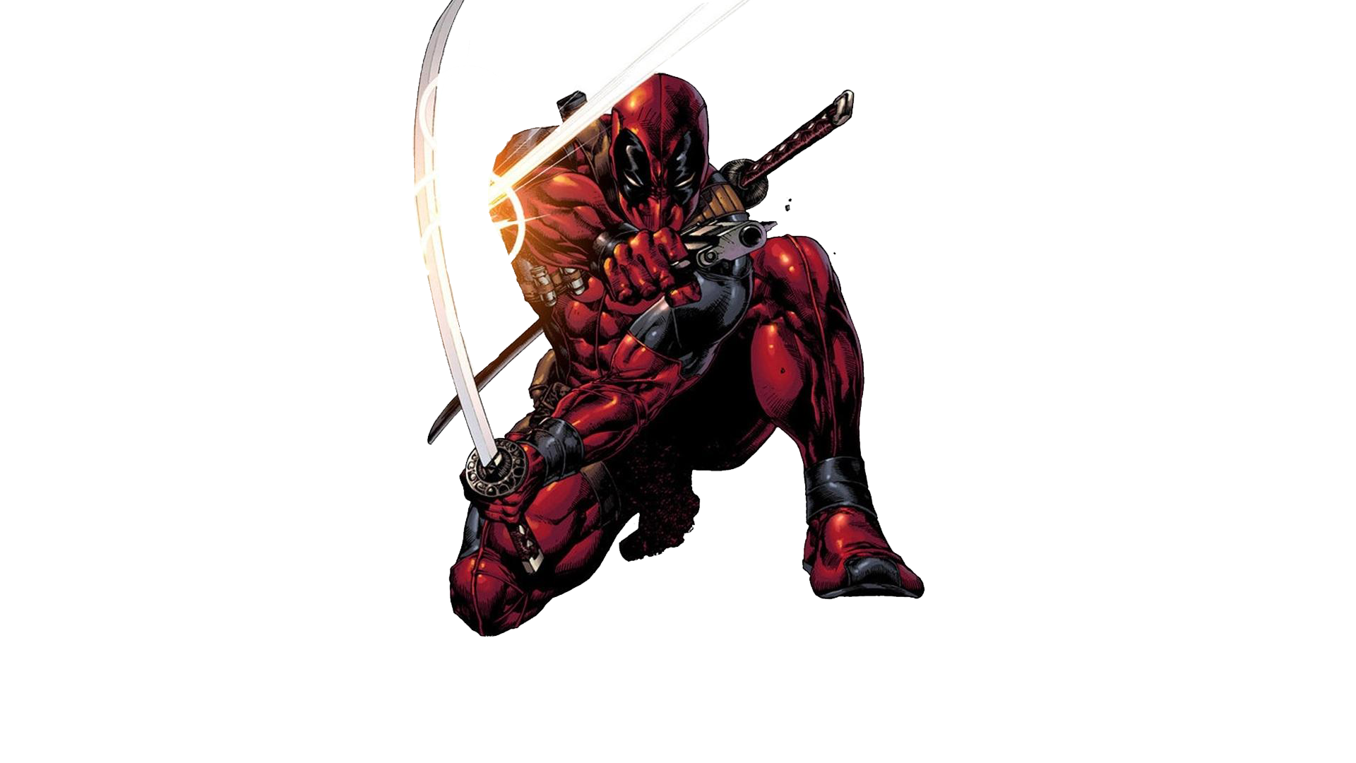 Deadpool Transparent Background.