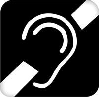 Deaf Symbol.