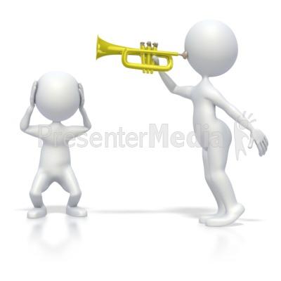 Annoying Trumpet Sound.