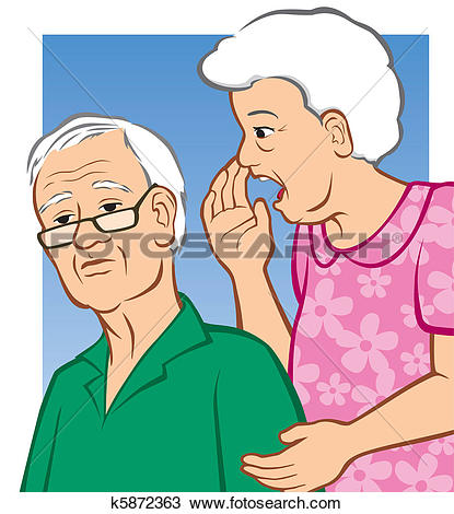 Clip Art of Hearing Loss k4202788.