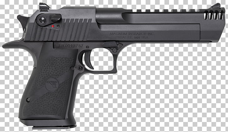 50 Action Express IMI Desert Eagle Magnum Research Pistol.