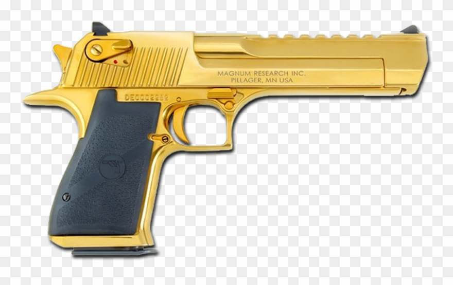 Gun Deagle Golden Deserteagle Gold Weapon.