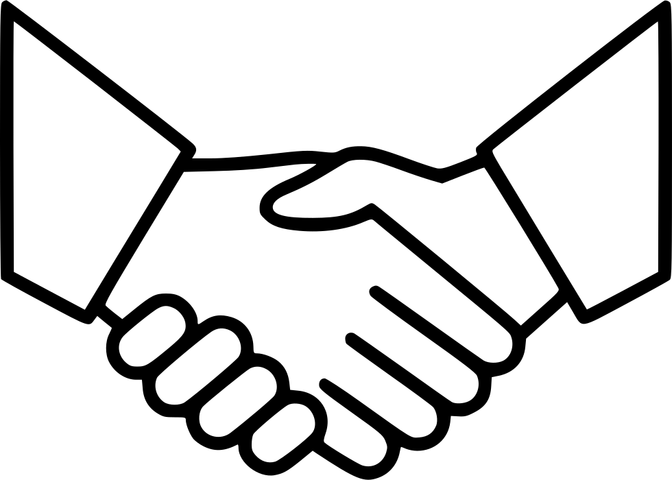 Business Agreement Deal Partnership Handshake Svg Png Icon Free.