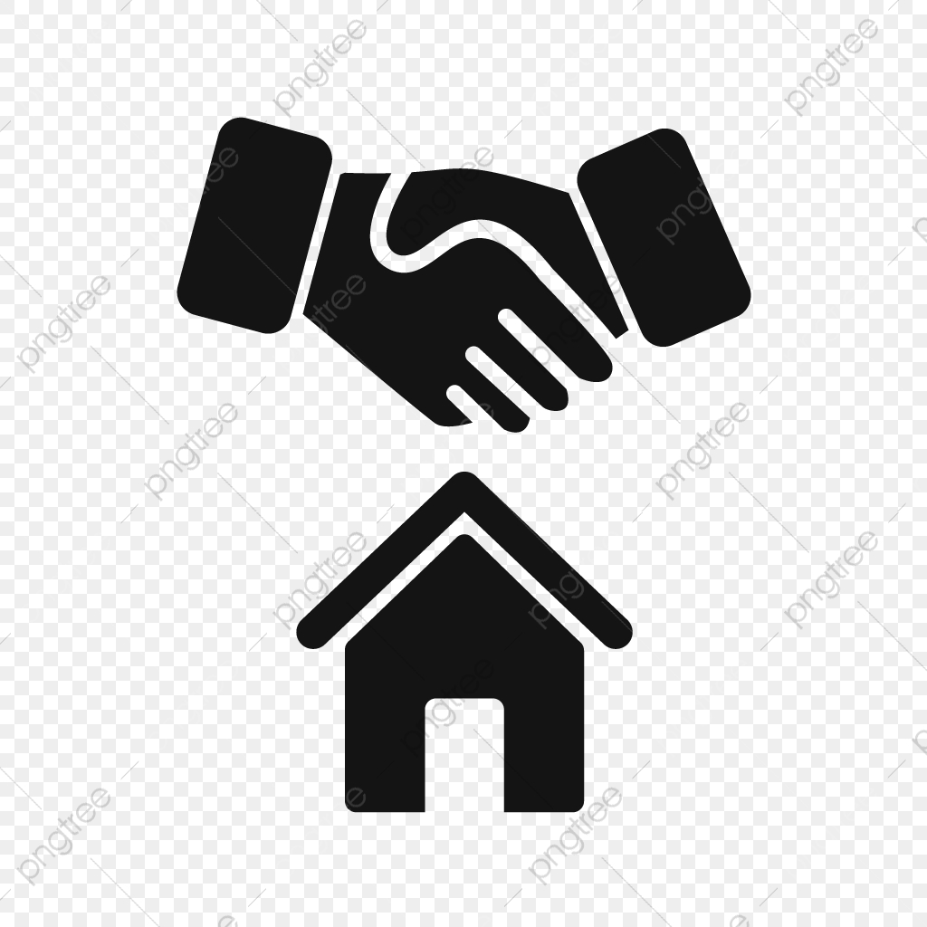 Vector House Deal Icon, House, Deal, Contract PNG and Vector with.