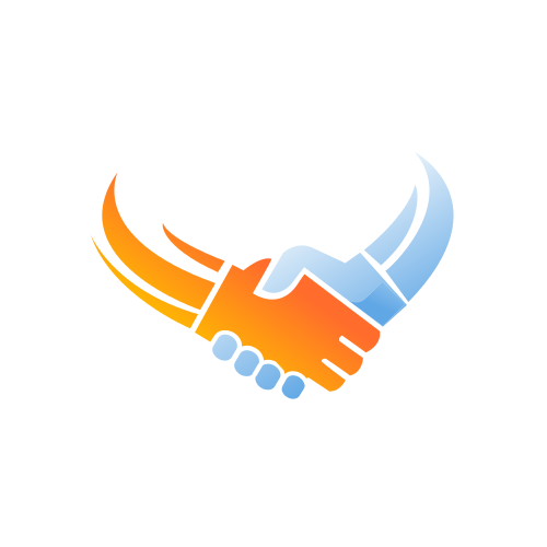 Business Handshake Deal Logo.