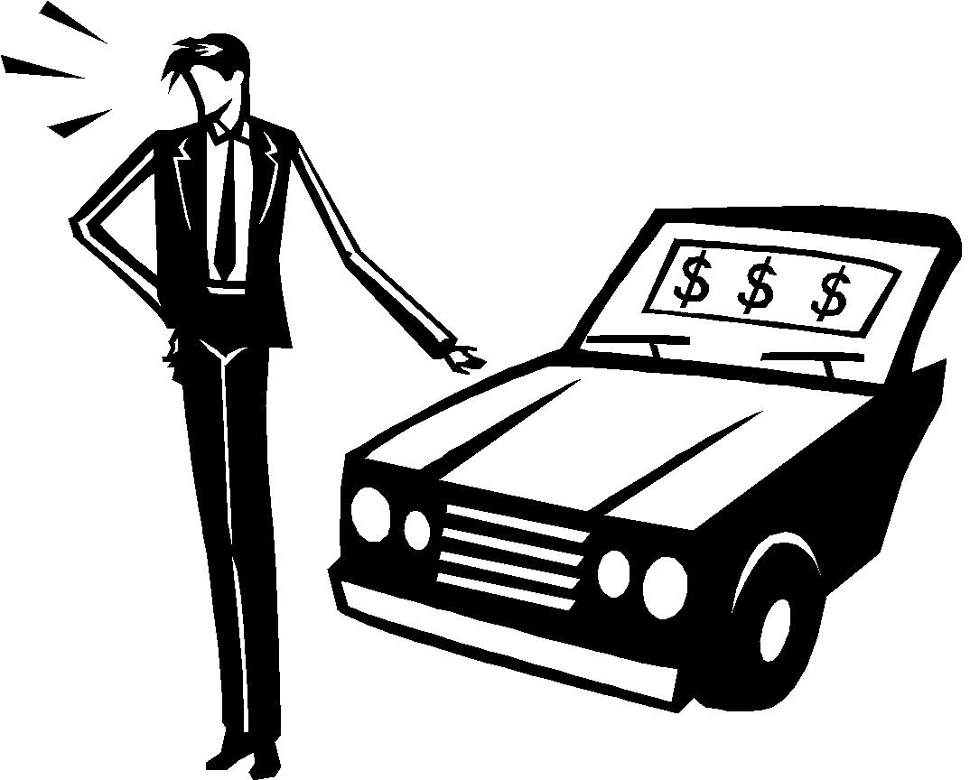 Car dealer clipart.