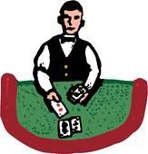 Clipart of Dealer dealer.