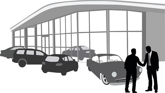 Car Dealer Clip Art.