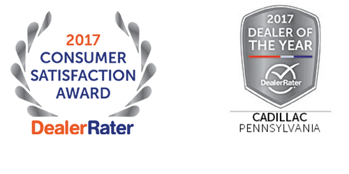 Kelly Cadillac is again the proud recipient of the Dealer Rater of.