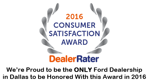 Five Star Ford Carrollton Wins DealerRater Award.