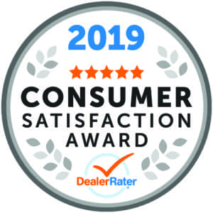DealerRater Recognizes Bianchi Honda with a Consumer Satisfaction.