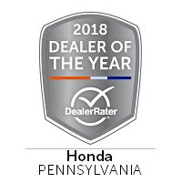Bianchi Honda Wins 2018 DealerRater Honda Dealer of the Year Award.