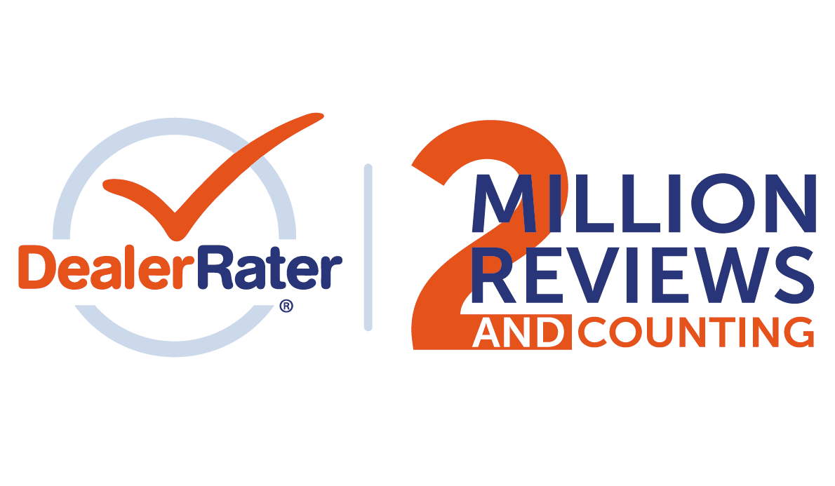 DealerRater Has Published 2 Million Dealer Reviews from Consumers.