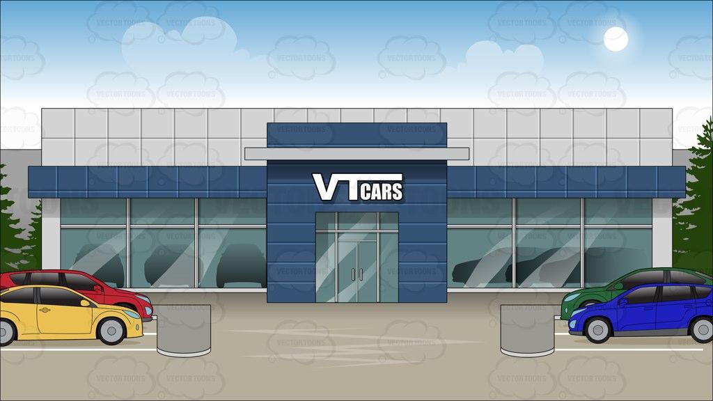 Clipart Car Dealership.