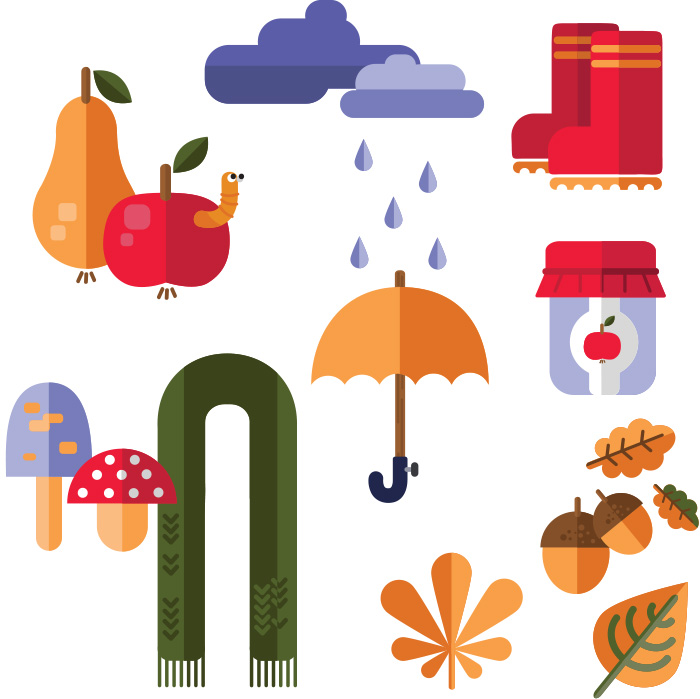 Huge Bundle of 950+ Vector Clip Art Elements.