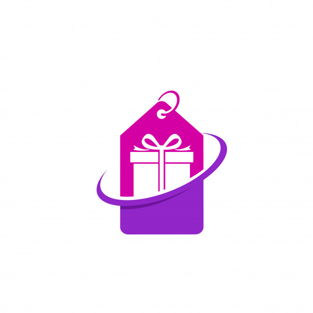 Gift deals logo and icon element Vector.