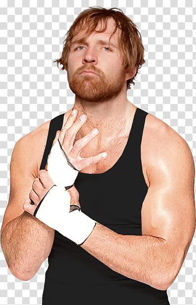 WWE Dean Ambrose render MrPHNML transparent background PNG.