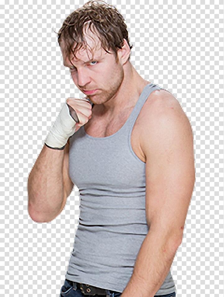 Dean Ambrose Render transparent background PNG clipart.