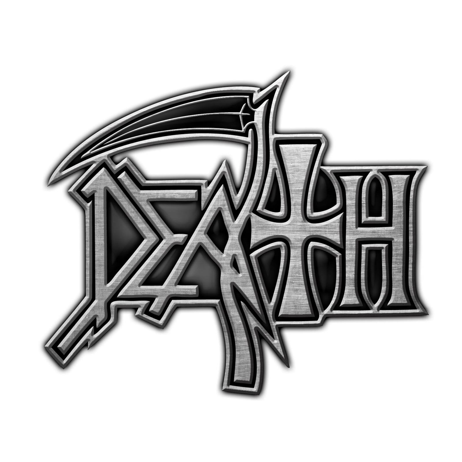 Details about Death Logo Metal Pin Button Badge Official Metal Band Merch.