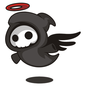 Cartoon Angel Of Death clipart, cliparts of Cartoon Angel Of Death.