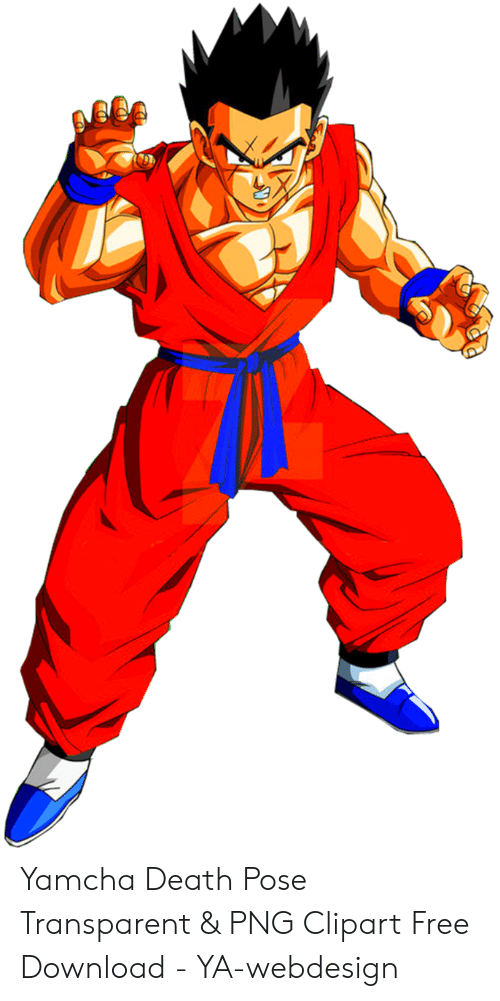 Yamcha Death Pose Transparent & PNG Clipart Free Download.