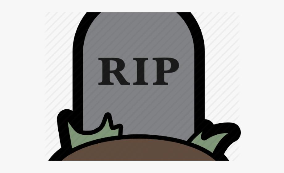 Death Clipart Grave Marker.