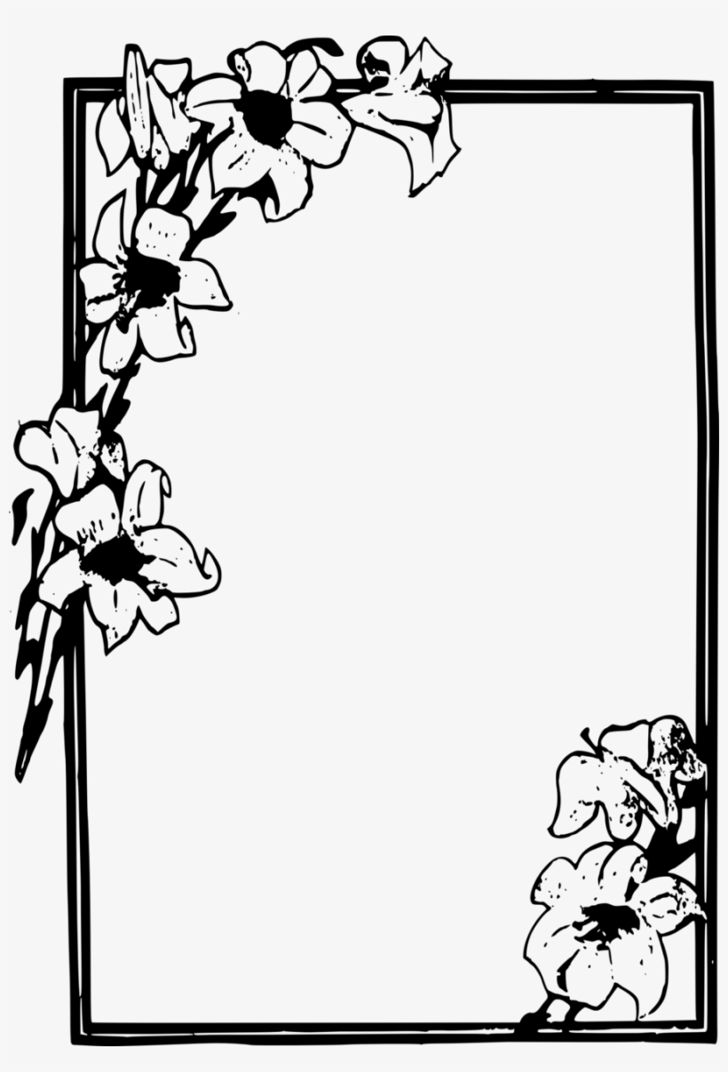 Death Photo Flower Frames Png images collection for free.