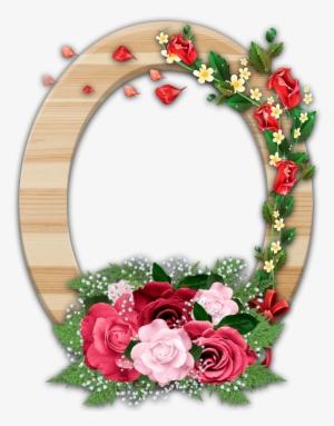 Death Photo Flower Frames Png.