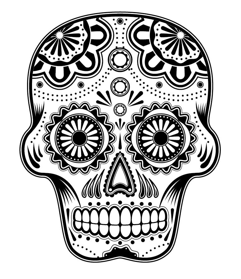 1000+ images about Sugar skulls on Pinterest.