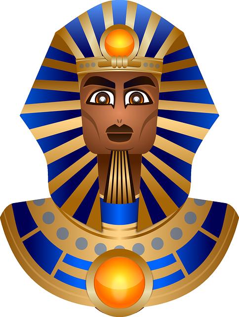 Free photo Death Mask Tutankhamun Pharaonic Egypt.