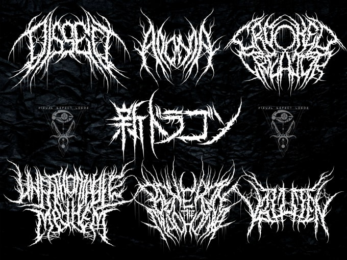 design death metal logo for your band for $40.