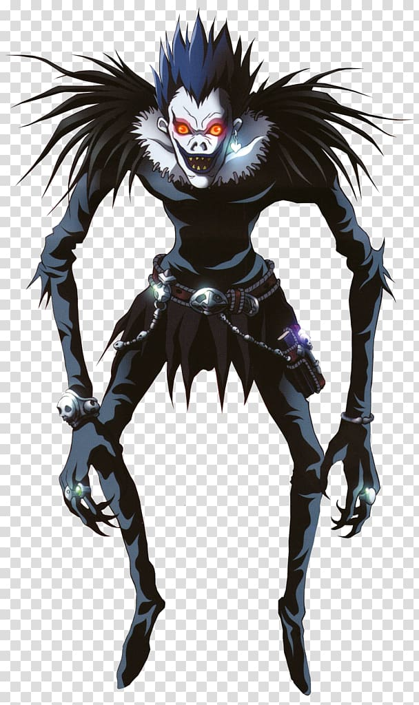 Ryuk Light Yagami Mello Death Note Character, Anime transparent.