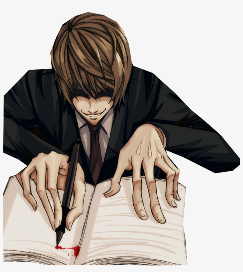 Death Note Light Png.