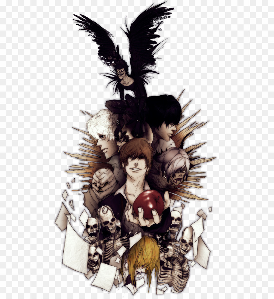 Death Note PNG Light Yagami Clipart download.