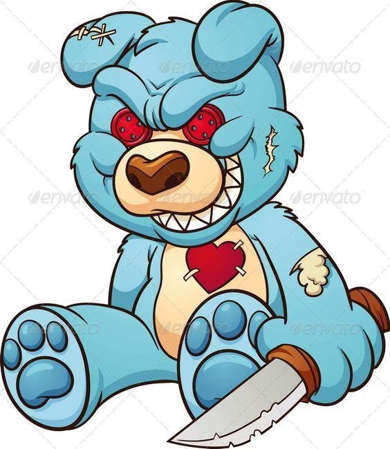 Evil Teddy Bear.
