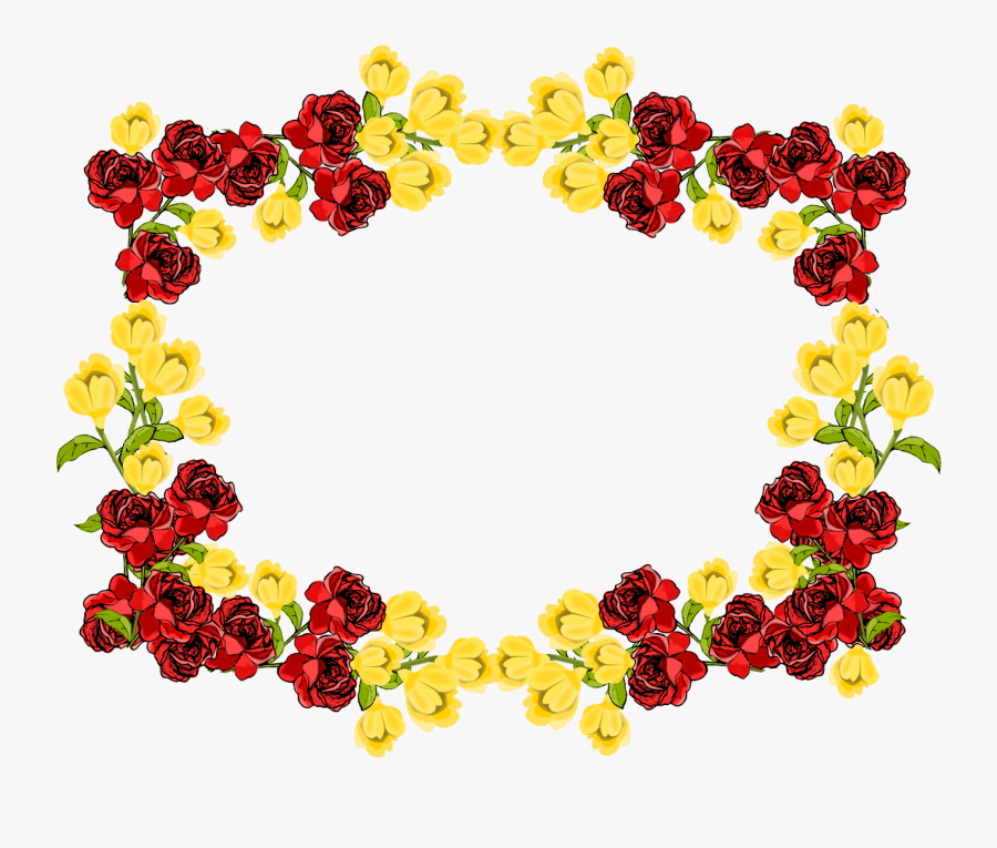 Death Photo Flower Frames Png , Free Transparent Clipart.