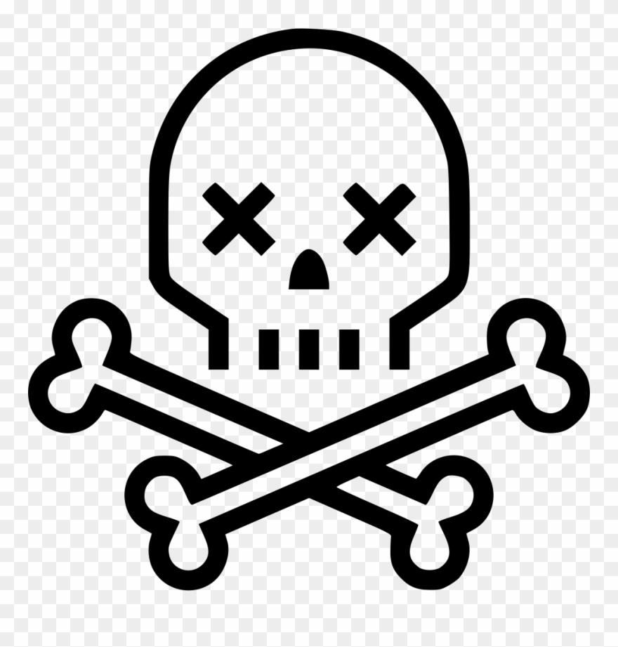 Skeleton Svg Png Icon.