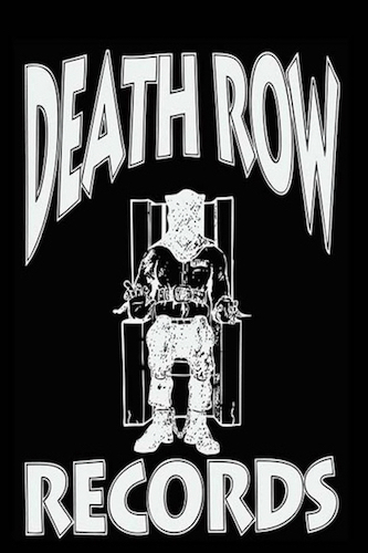Death Row Records Poster.