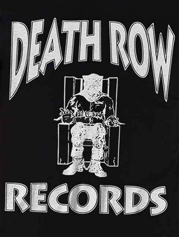 Amazon.com: Death Row Records T Shirt Label Logo Hip Hop.