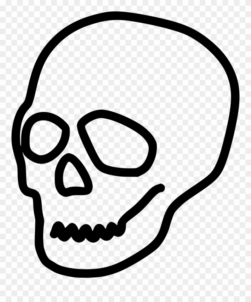 Skull Death Halloween Poison Comments Clipart (#2130654.