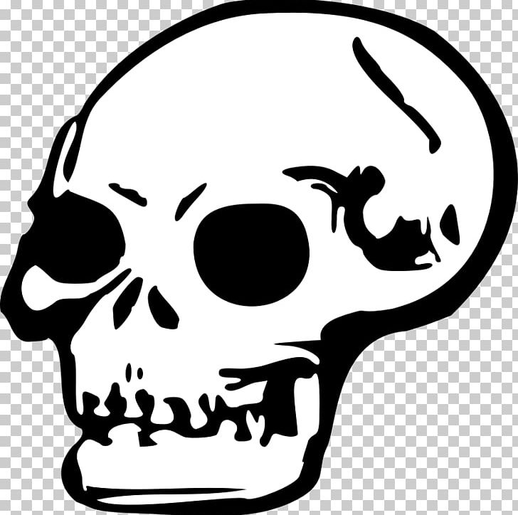 Death Skull PNG, Clipart, Black And White, Blog, Bone.
