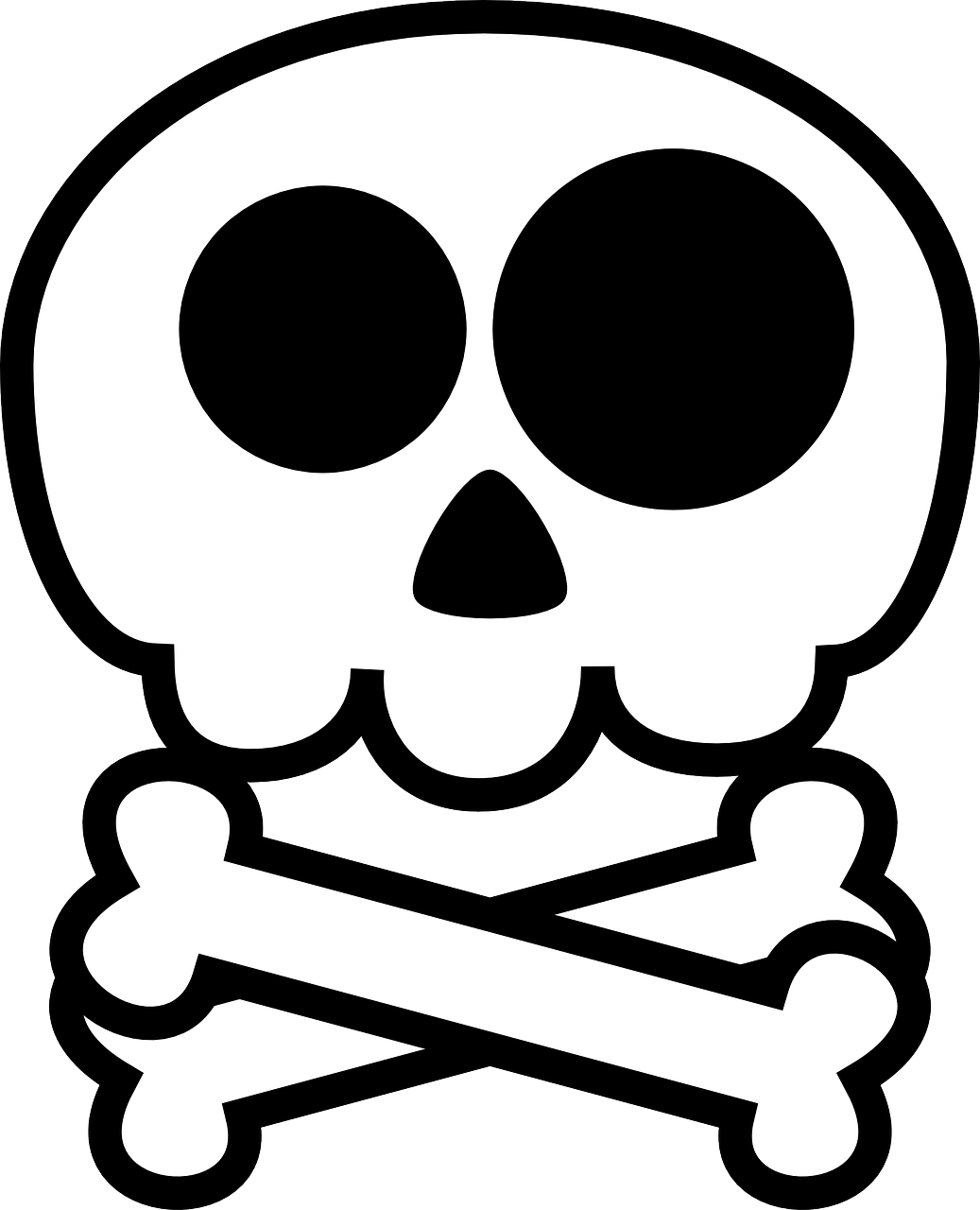 Death'S Head Skull PNG.