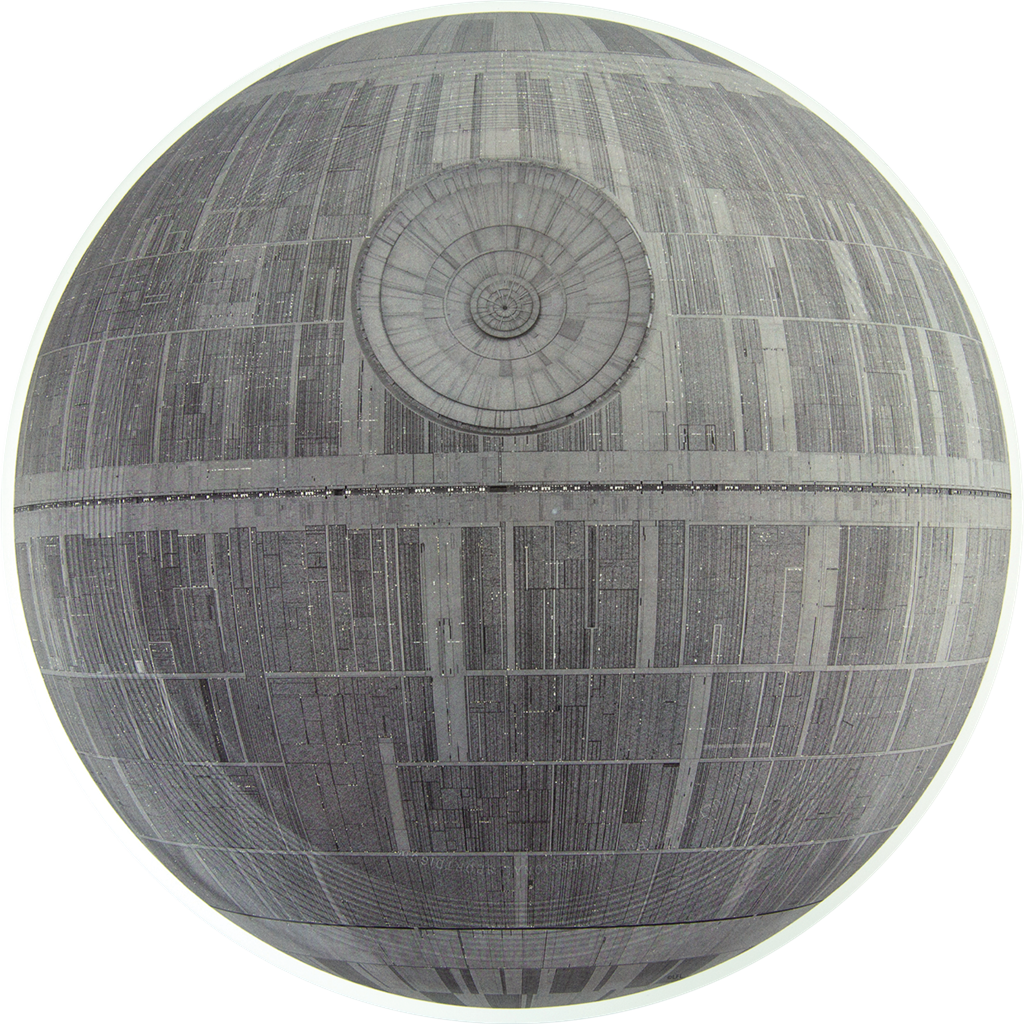 Death Star Full print SuperColor UltraStar.