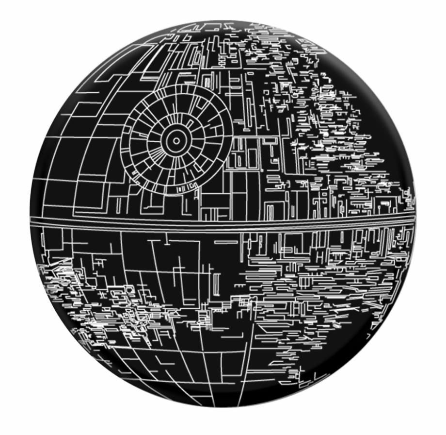 Aluminum Death Star, Transparent Png Download For Free #1229319.