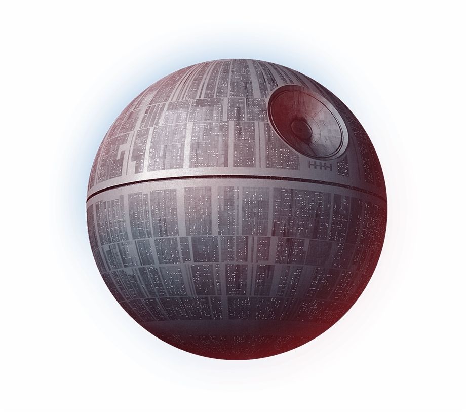 Star Wars Cartoon Death Star , Png Download.