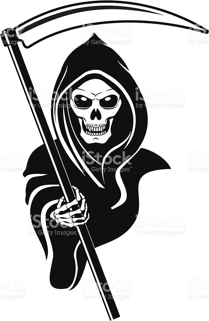 Death Symbol stock vector art 106592528.