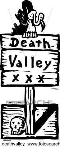 Death valley Clip Art.