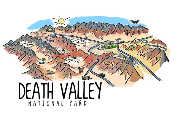Death Valley National Park, California.