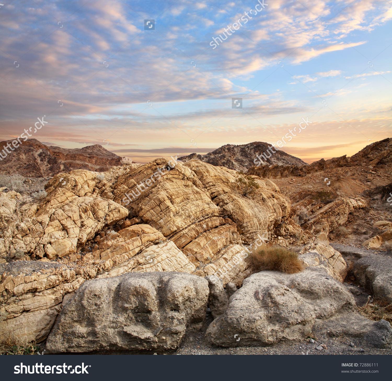 Metamorphic Rock Near Entrance Marble Canyon Stock Photo 72886111.