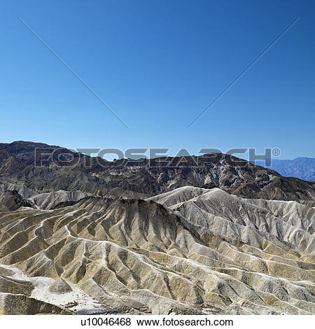Pictures of Land formations in Death Valley National Park.